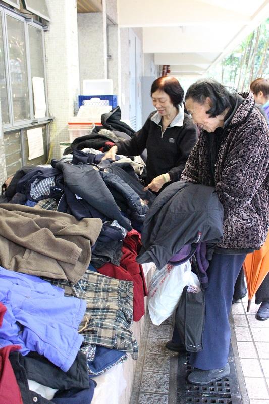 寒衣送暖: 民社服務中心 2016