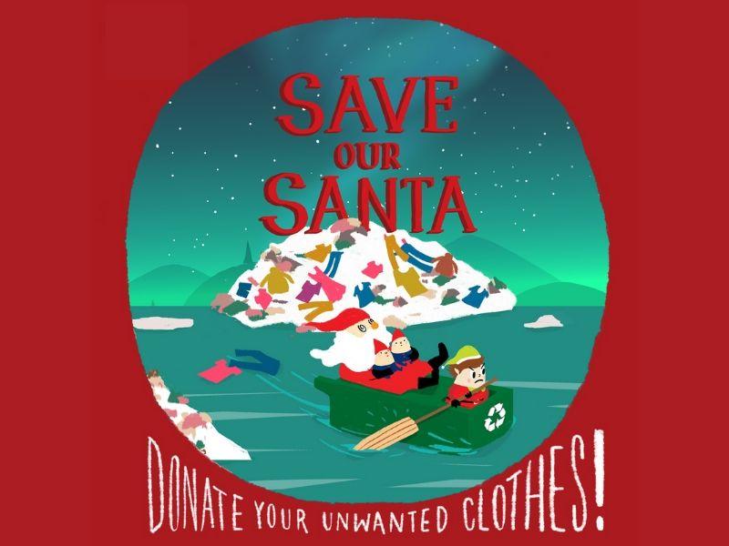 【Save Our Santa】捐衣減廢大行動